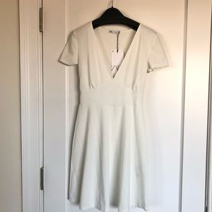 NWT- Short v-neck dress